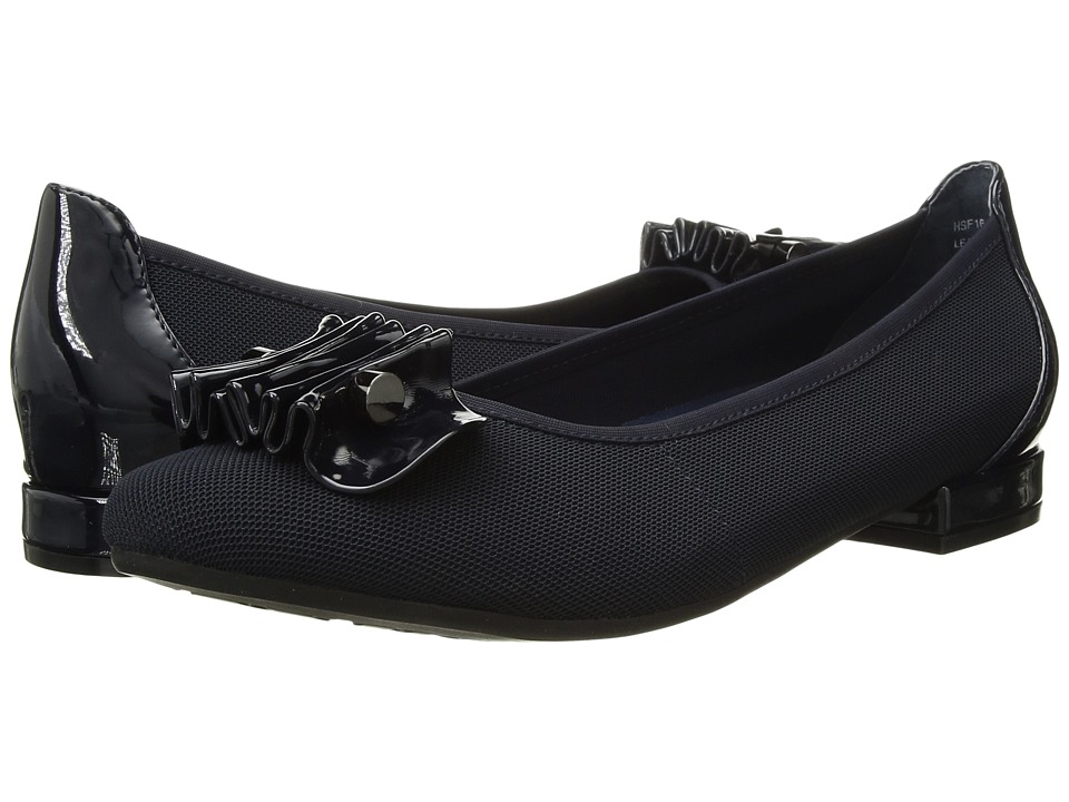 David Tate - Alice (Navy Microfiber) Women's Shoes