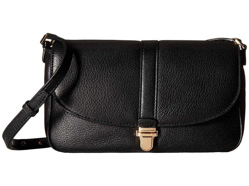 MICHAEL Michael Kors - Charlton Large Crossbody (Black) Cross Body Handbags