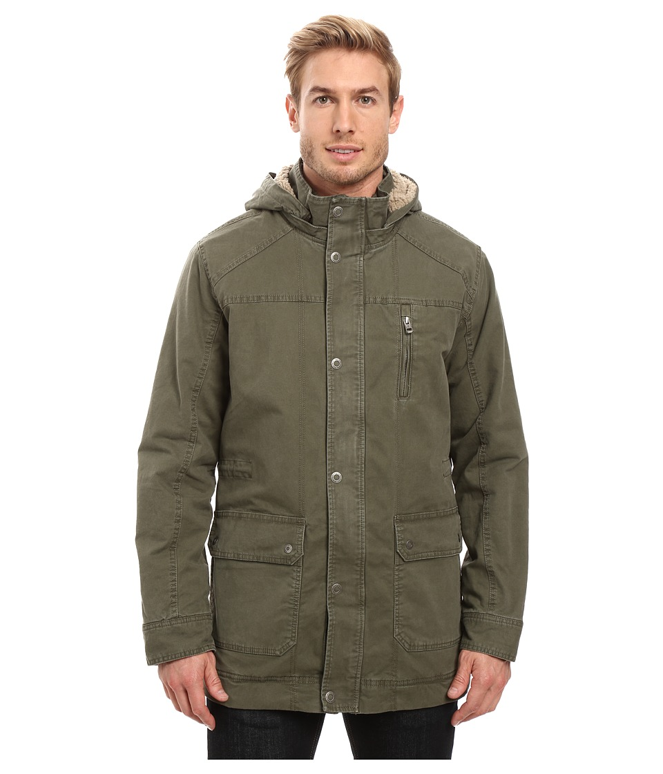 Prana - Parka (Cargo Green) Men's Coat