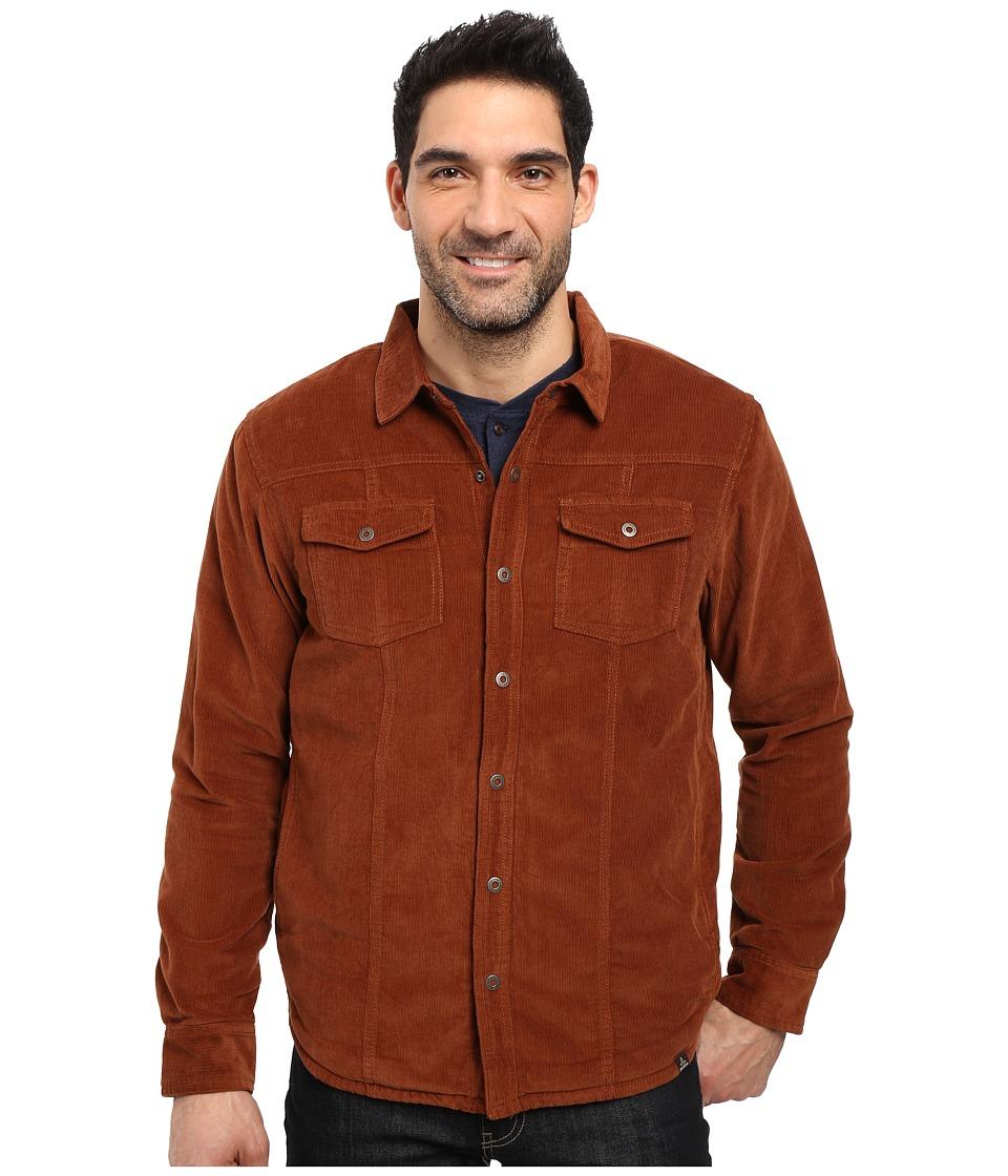 Prana - Gomez Corduroy Jacket (Auburn) Men's Coat