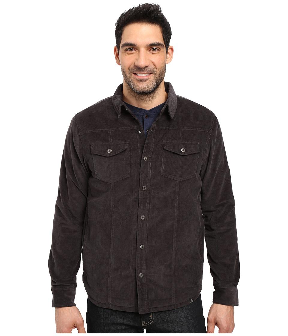 Prana - Gomez Corduroy Jacket (Charcoal) Men's Coat