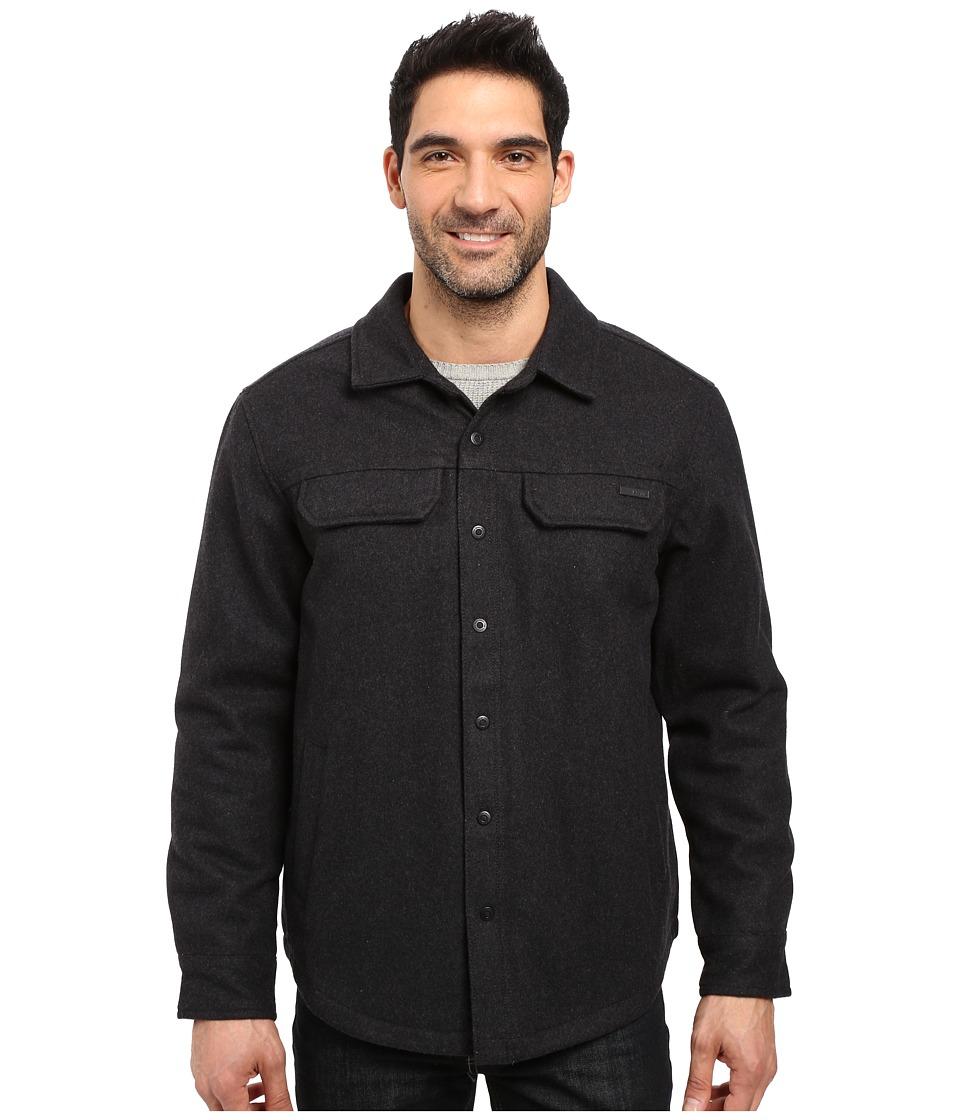 Prana - Wooley Jacket (Black Heather) Men's Coat