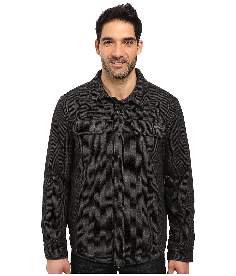 Prana - Wooley Jacket (Charcoal Tweed) Men's Coat