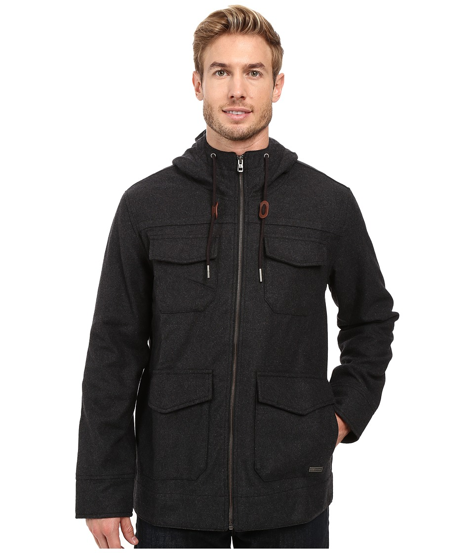 Prana - Field Jacket (Black Heather) Men's Coat