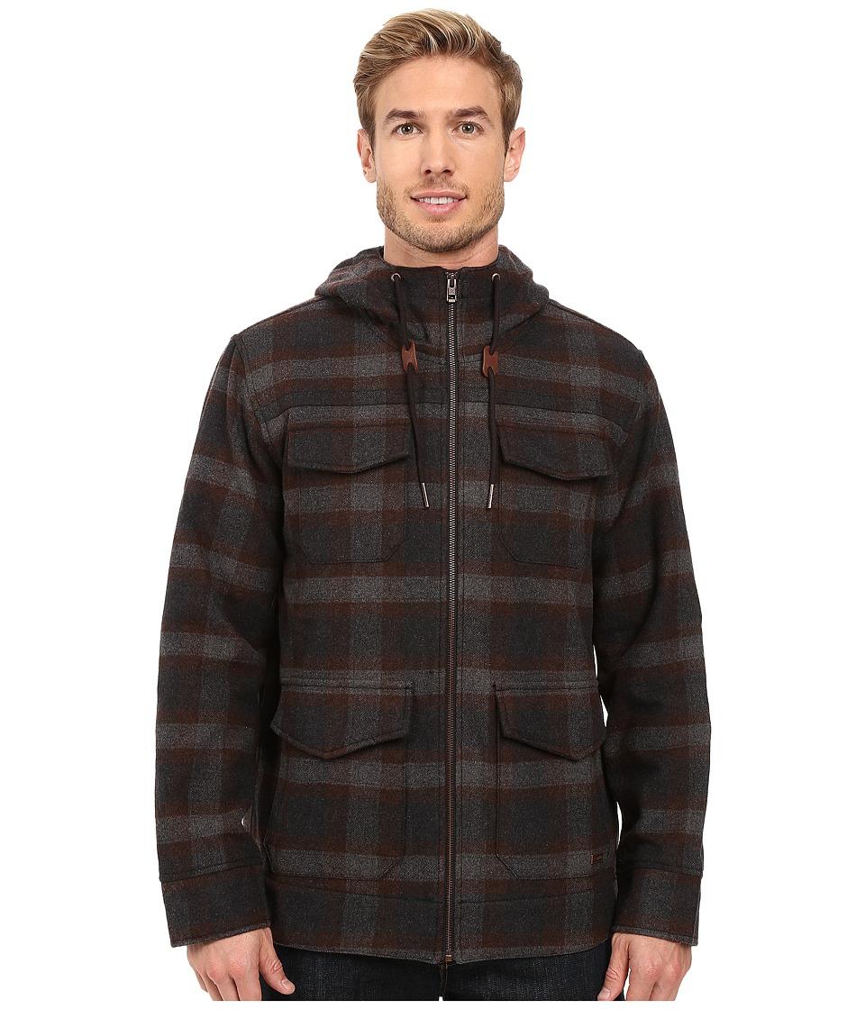 Prana - Field Jacket (Dark Umber) Men's Coat