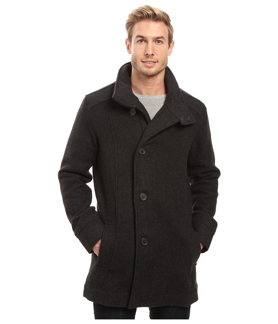 Prana - Winter Peacoat (Charcoal Heather) Men's Coat