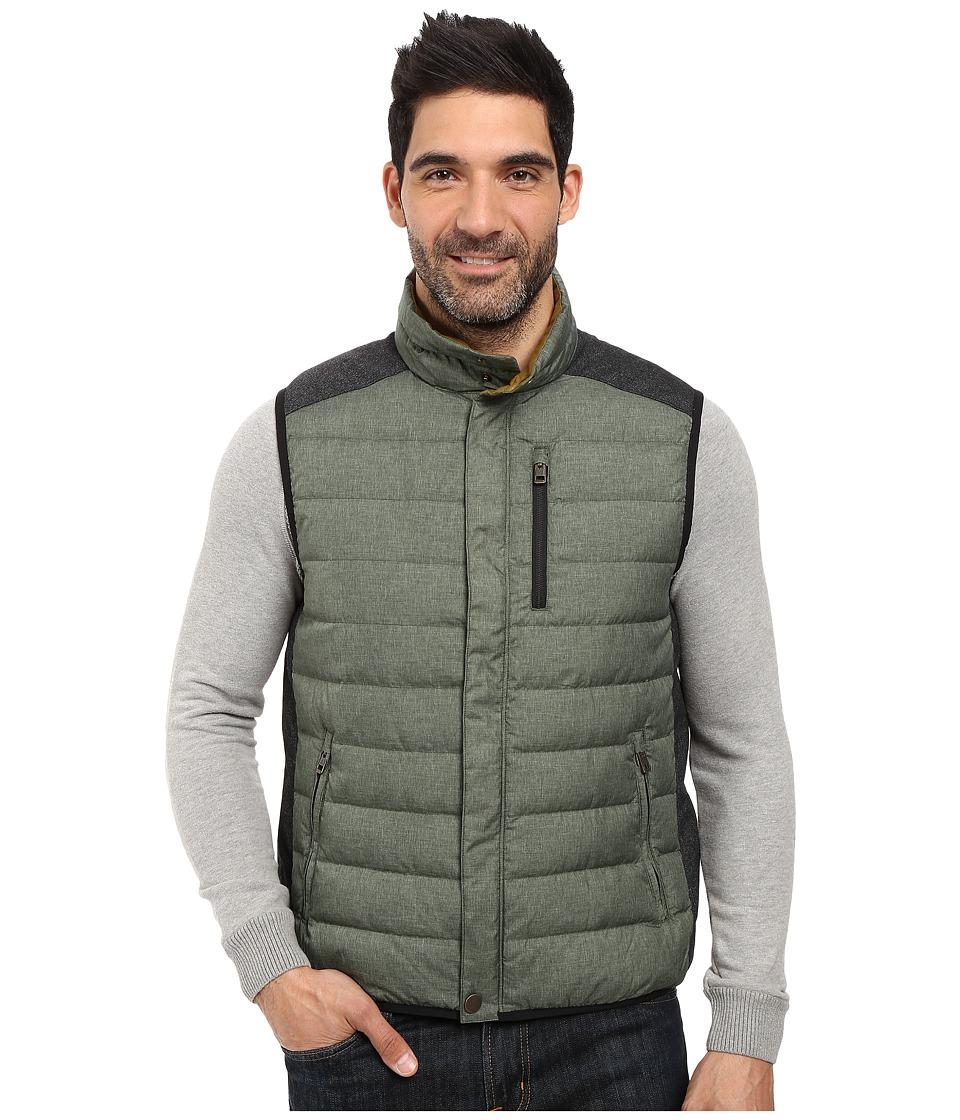 Prana - Gram Vest (Dark Olive) Men's Vest