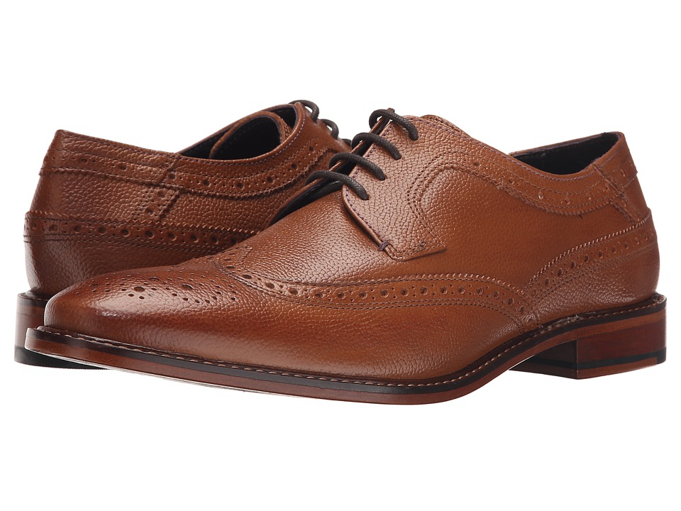 Ted Baker - Koptein (Tan Leather) Men's Lace Up Wing Tip Shoes
