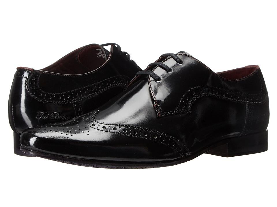Ted Baker Hamniy 2 (Black High Shine Leather) Men
