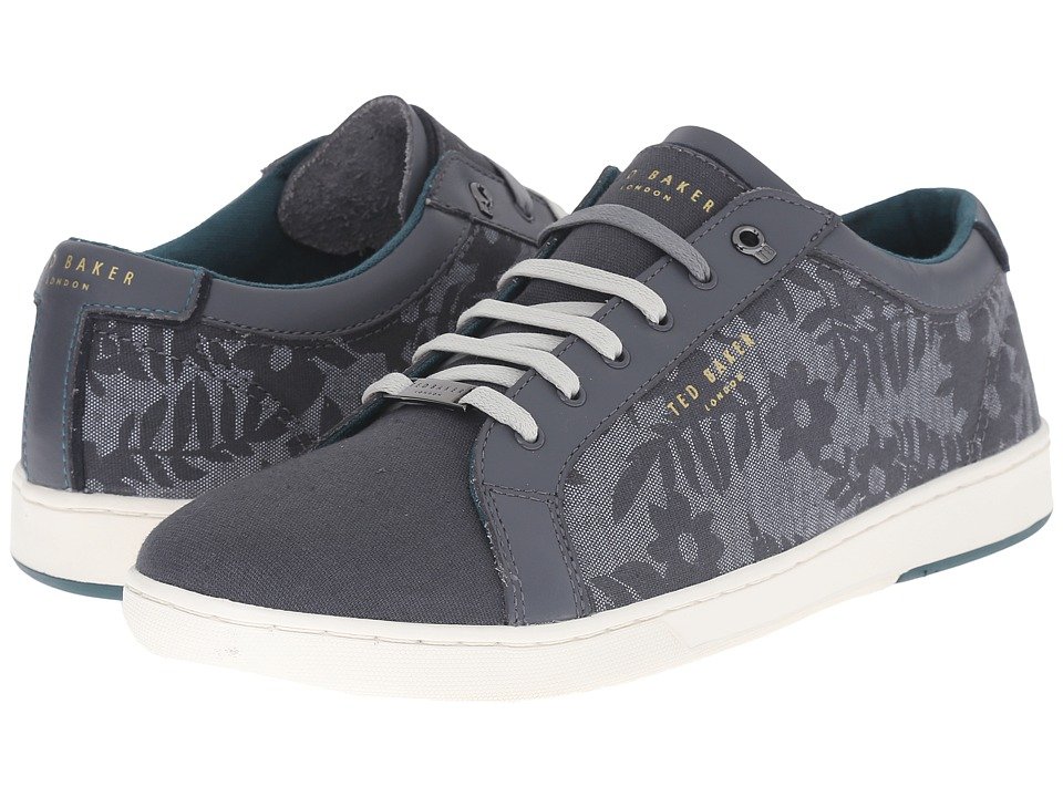 Ted Baker - Keeran 3 (Grey Textile) Men's Lace up casual Shoes