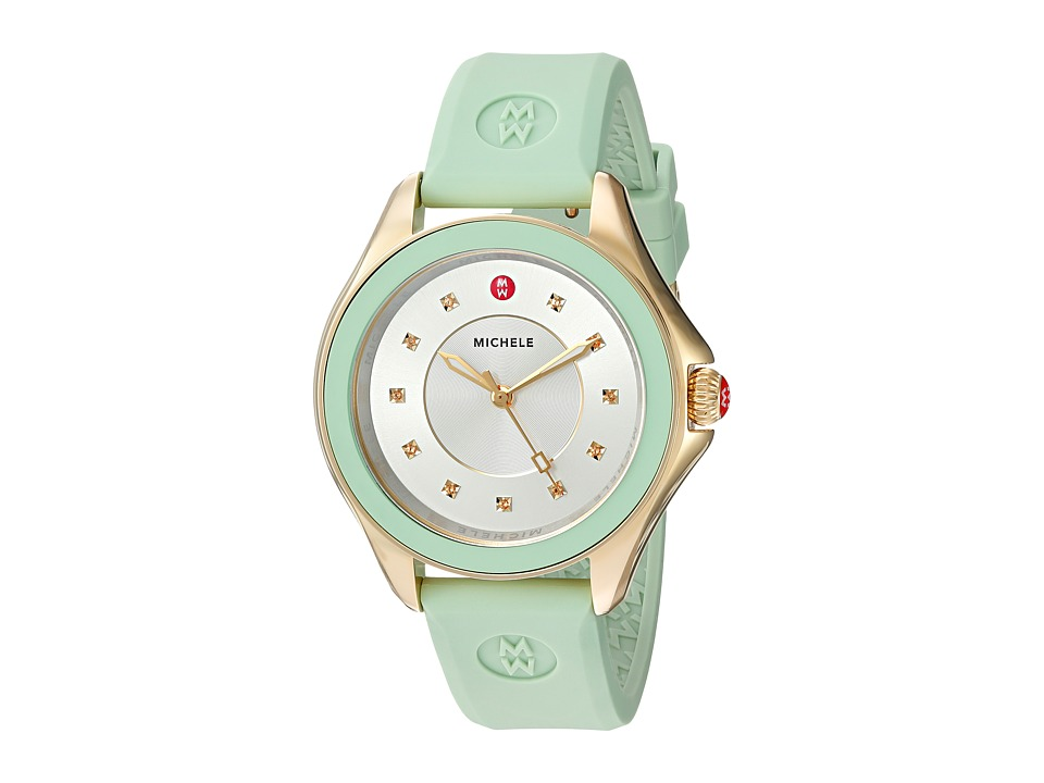 Michele - Cape Topaz, Mint (Mint) Watches