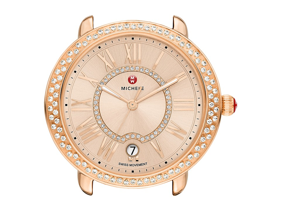 Michele - 16mm Serein Diamond Rose Gold, Beige Diamond Dial (Rose Gold) Watches