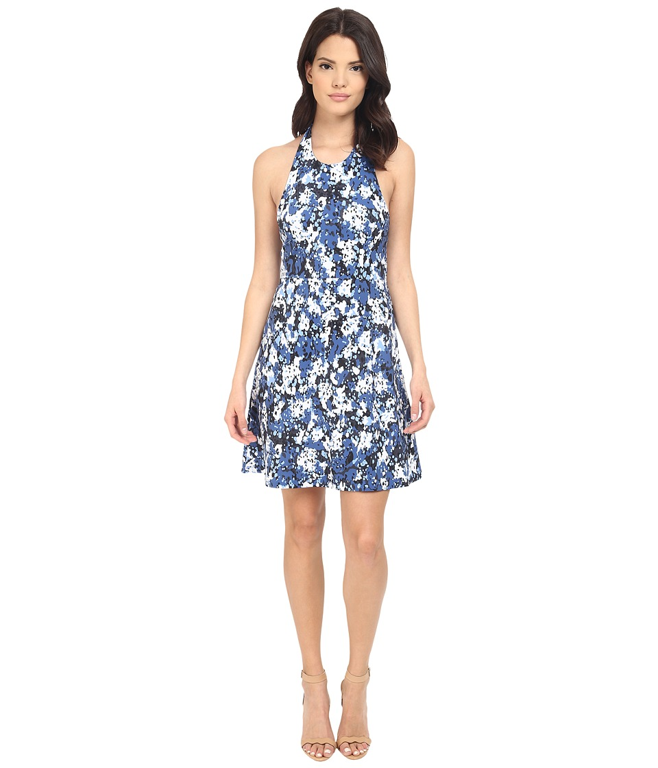 Susana Monaco Christine Dress (Lapis Combo) Women