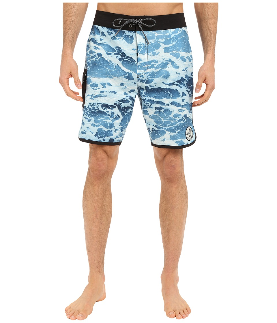 Vans - Mixed Scallop Boardshorts (Backwash) Men's Swimwear