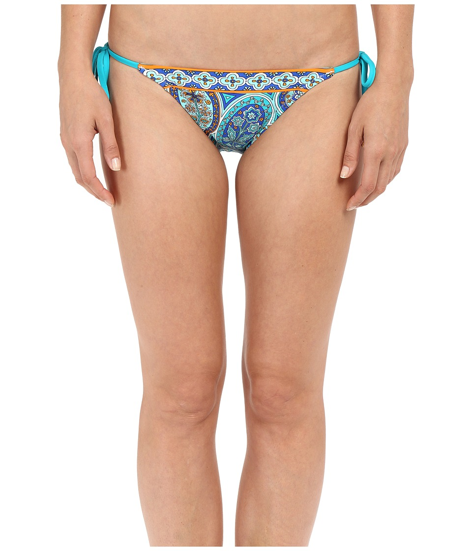 Trina Turk Provence Paisley Tie Side Hipster (Pool) Women
