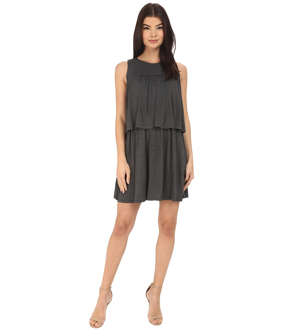 Susana Monaco - Kiera Dress (Charcoal) Women's Dress