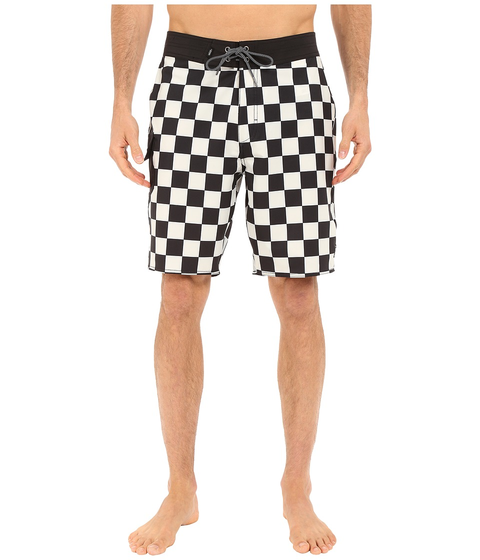 Vans - Ampster Boardshorts (Black/Whitecaps) Men's Swimwear