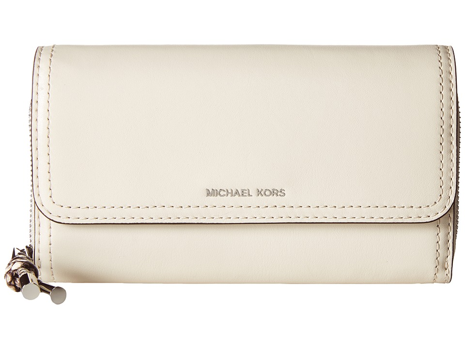 MICHAEL Michael Kors - Isabel Wallet Clutch (Ecru) Clutch Handbags