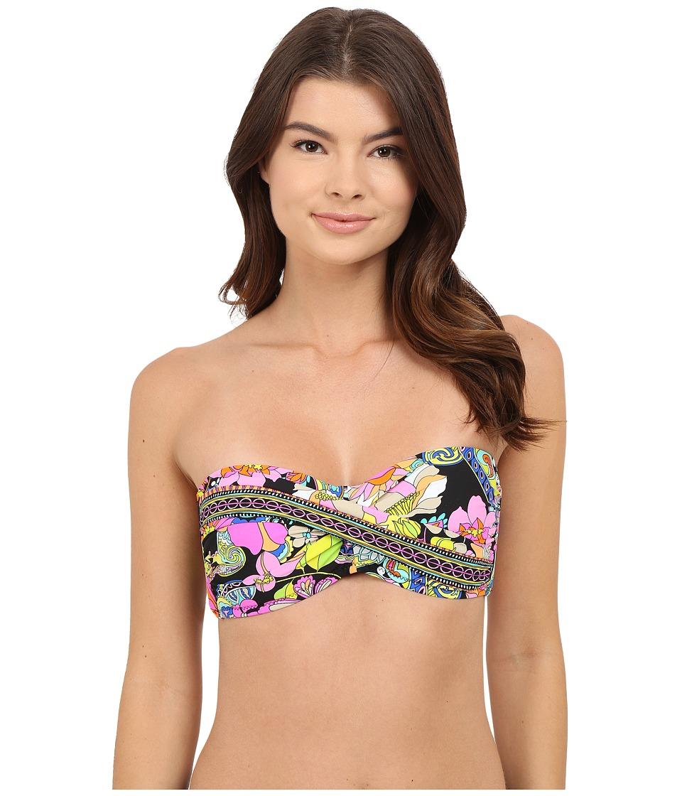 Trina Turk - Monaco Twist Bandeau (Multi) Women's Swimwear