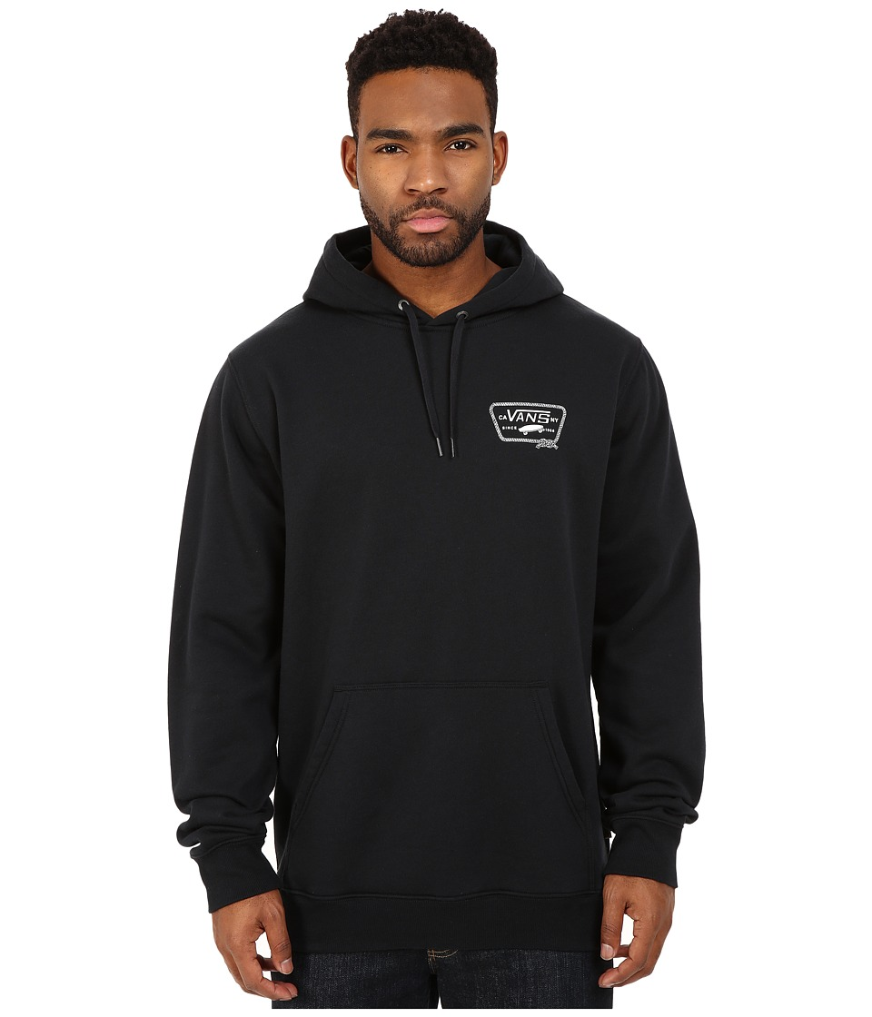 Vans - Port Patch Pullover (Black) Men's Sweatshirt