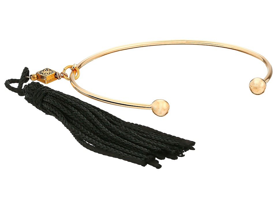 Vanessa Mooney - The Lovell Tassel Cuff Bracelet (Gold) Bracelet