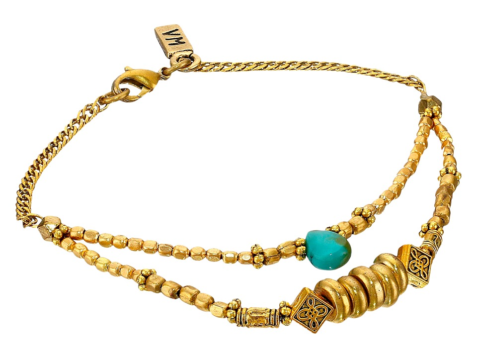 Vanessa Mooney - The Crossroads Bracelet (Gold) Bracelet
