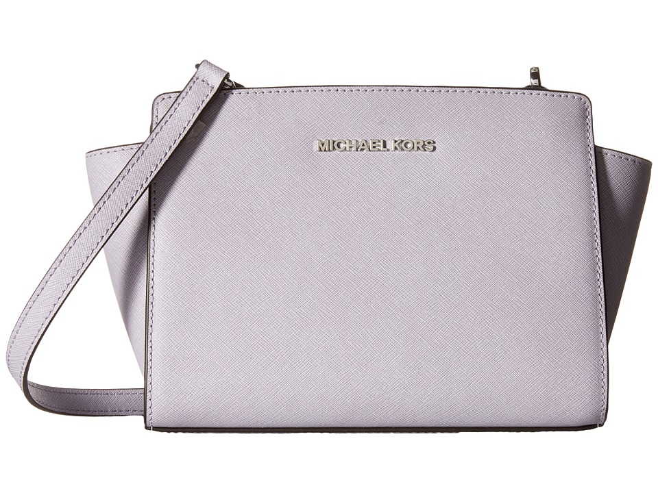 MICHAEL Michael Kors - Selma Medium Messenger (Lilac) Cross Body Handbags