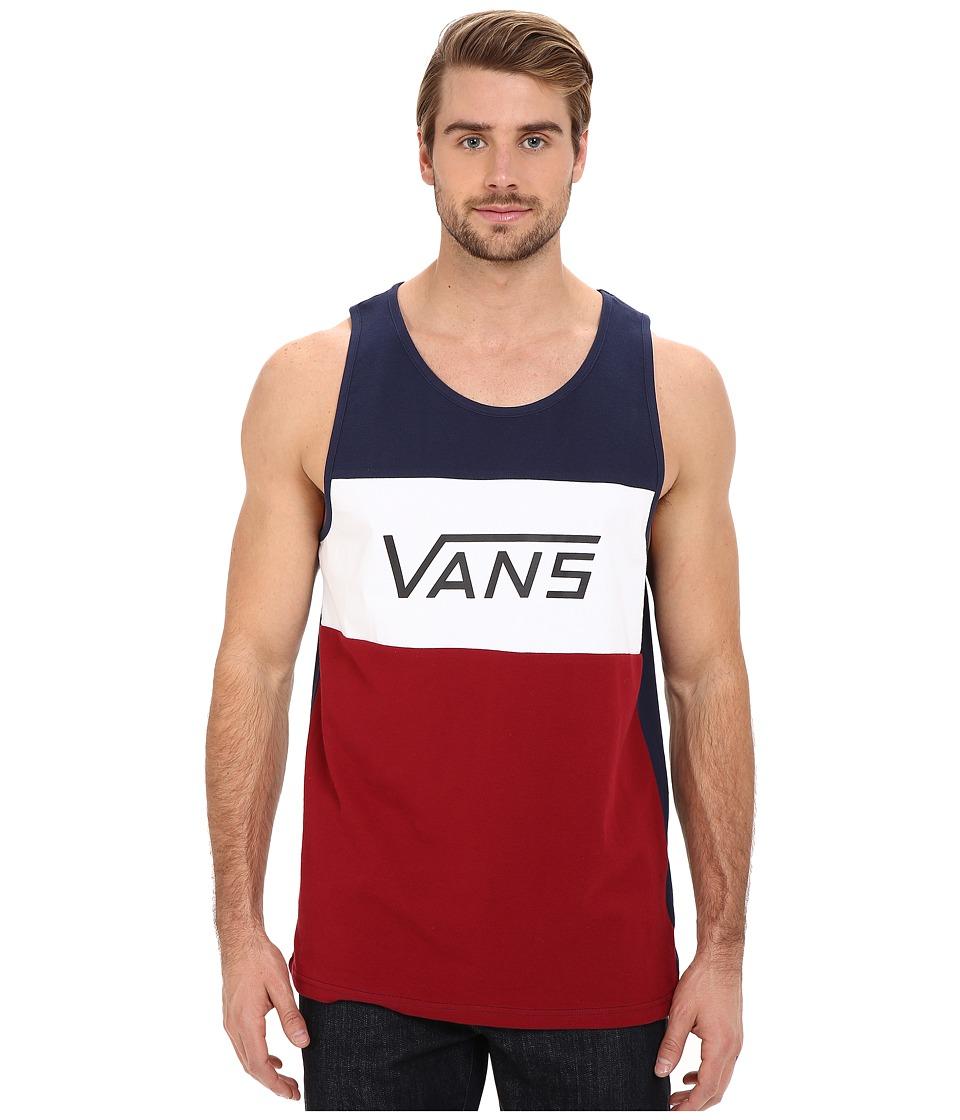 Vans - Sibley (Dress Blues) Men's Sleeveless