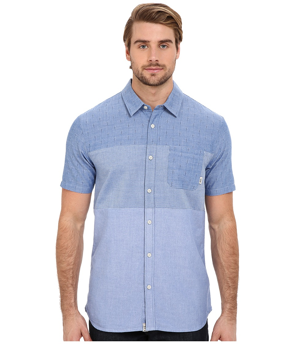 Vans - Storrow Woven (True Blue) Men's Clothing