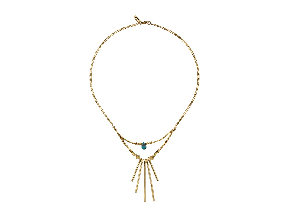 Vanessa Mooney - The Crossroads Necklace (Gold) Necklace