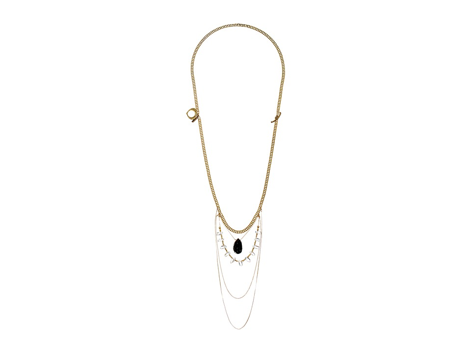Vanessa Mooney - The Taft Statement Necklace (Gold) Necklace