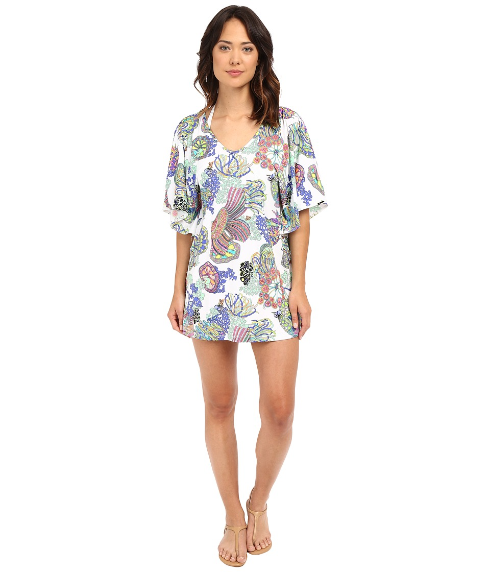 Trina Turk - Finding Dory Tunic Cover-Up (Multi) Women's Swimwear