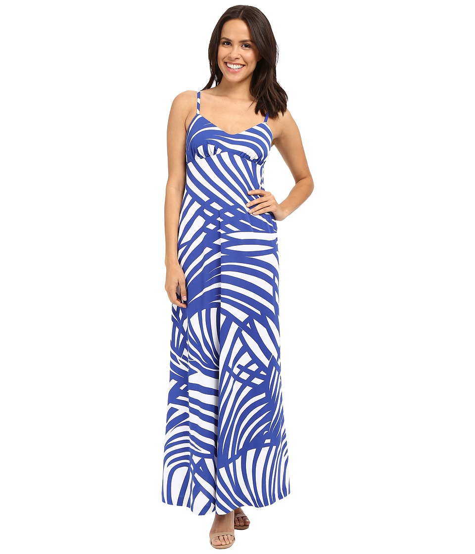 Susana Monaco Isla Maxi Dress (Lapis) Women