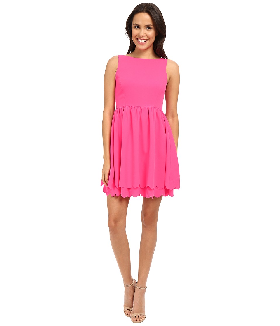 Susana Monaco Clariss Dress (Pink Glo) Women