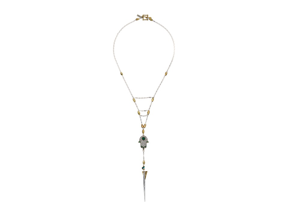 Vanessa Mooney - The Cecilia Necklace (Silver) Necklace