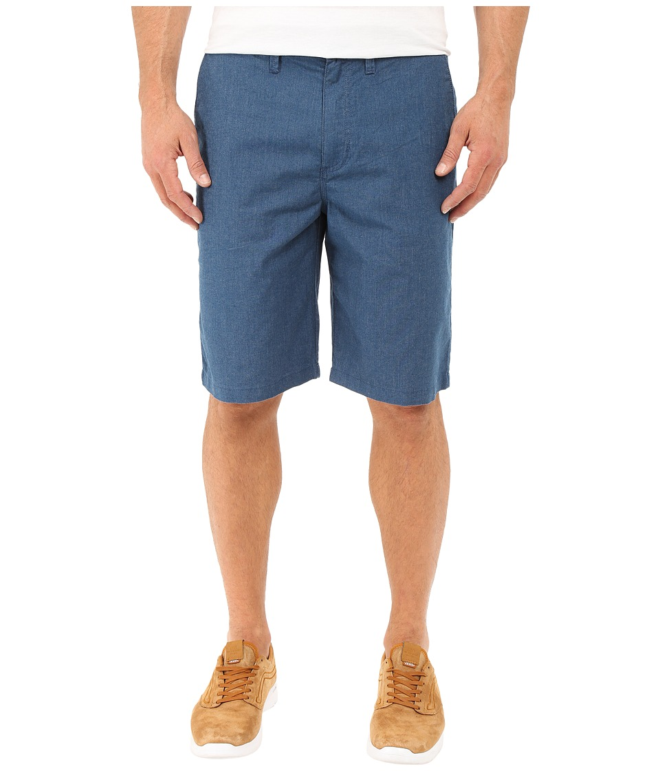 Vans - Dewitt Walkshort (Poseidon Heather) Men's Shorts