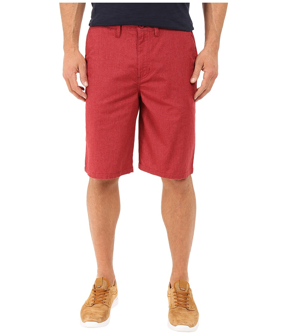 Vans - Dewitt Walkshort (Rhubarb Heather) Men's Shorts