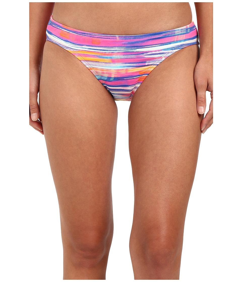 LAUREN Ralph Lauren - Summer Tie-Dye Print Hipster w/ Logo Plate (Multi) Women's Swimwear