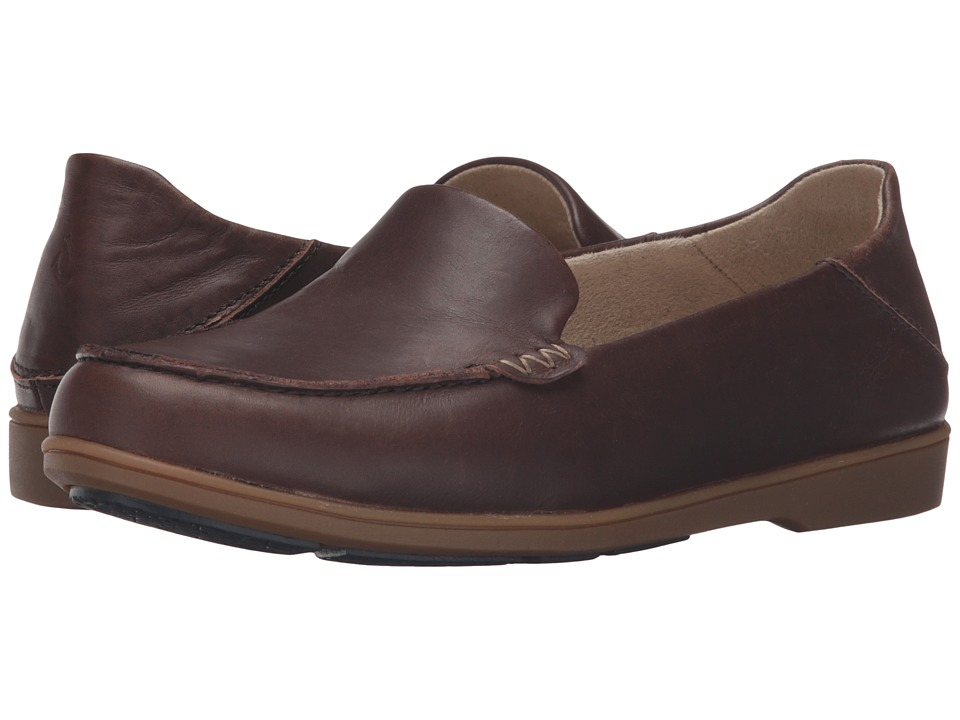 OluKai - Kiele (Dark Java/Dark Java) Women's Slip on Shoes