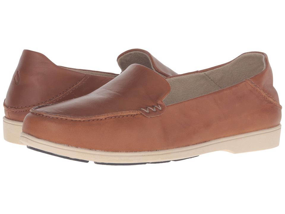 OluKai - Kiele (Mustard/Mustard) Women's Slip on Shoes
