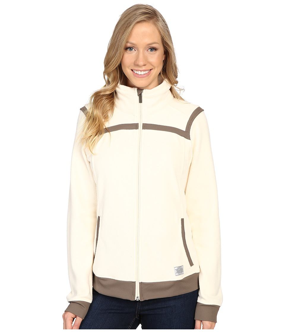 Toad&Co - Bear Creek Fleece Jacket (Polar Bear) Women's Coat