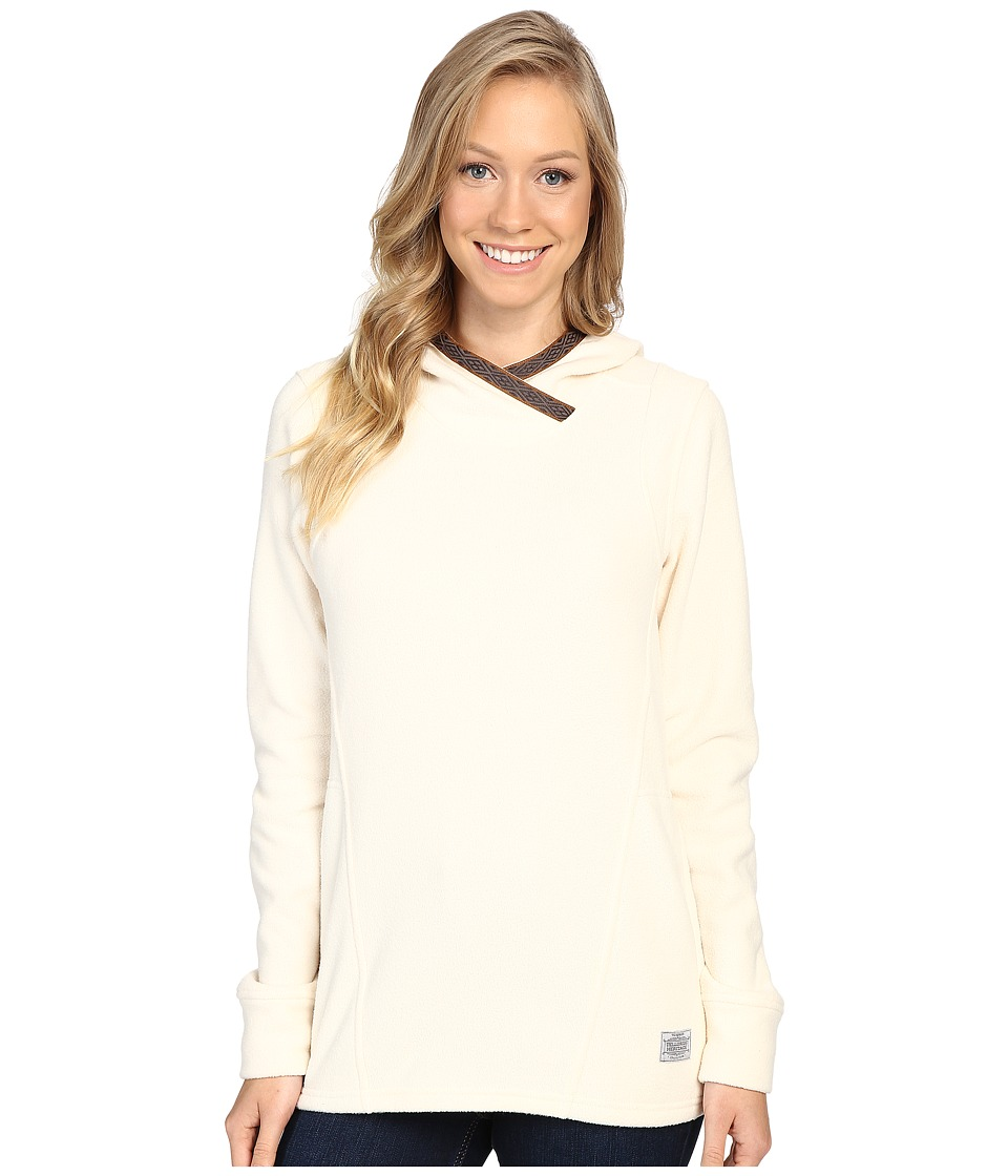 Toad&Co - Lookout Fleece Hoodie (Polar Bear) Women's Clothing