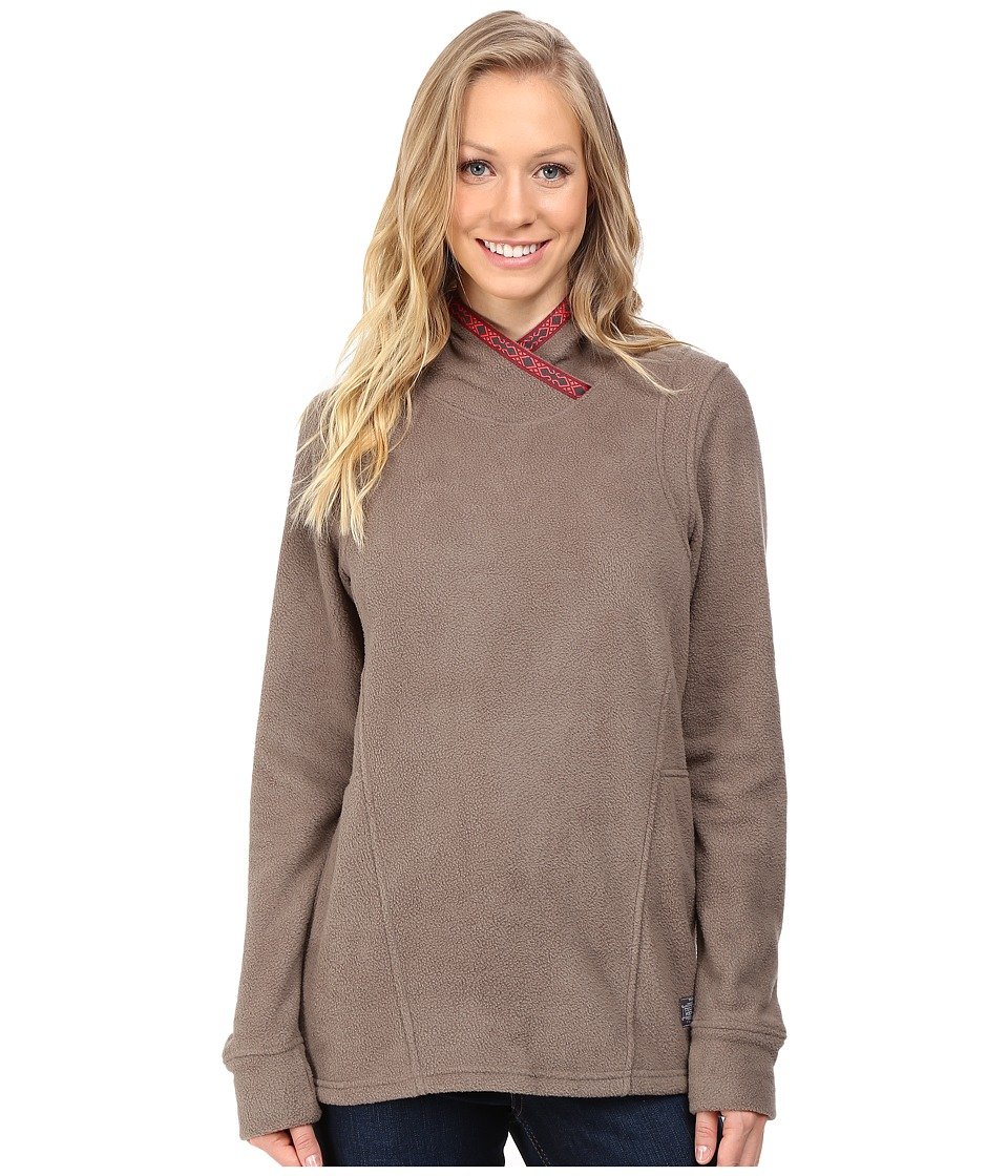 Toad&Co - Lookout Fleece Hoodie (Falcon Brown) Women's Clothing