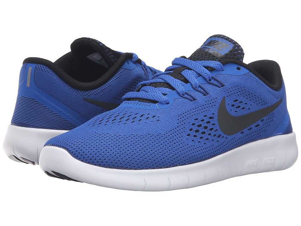 Nike Kids - Free RN (Big Kid) (Game Royal/White/Black) Boys Shoes