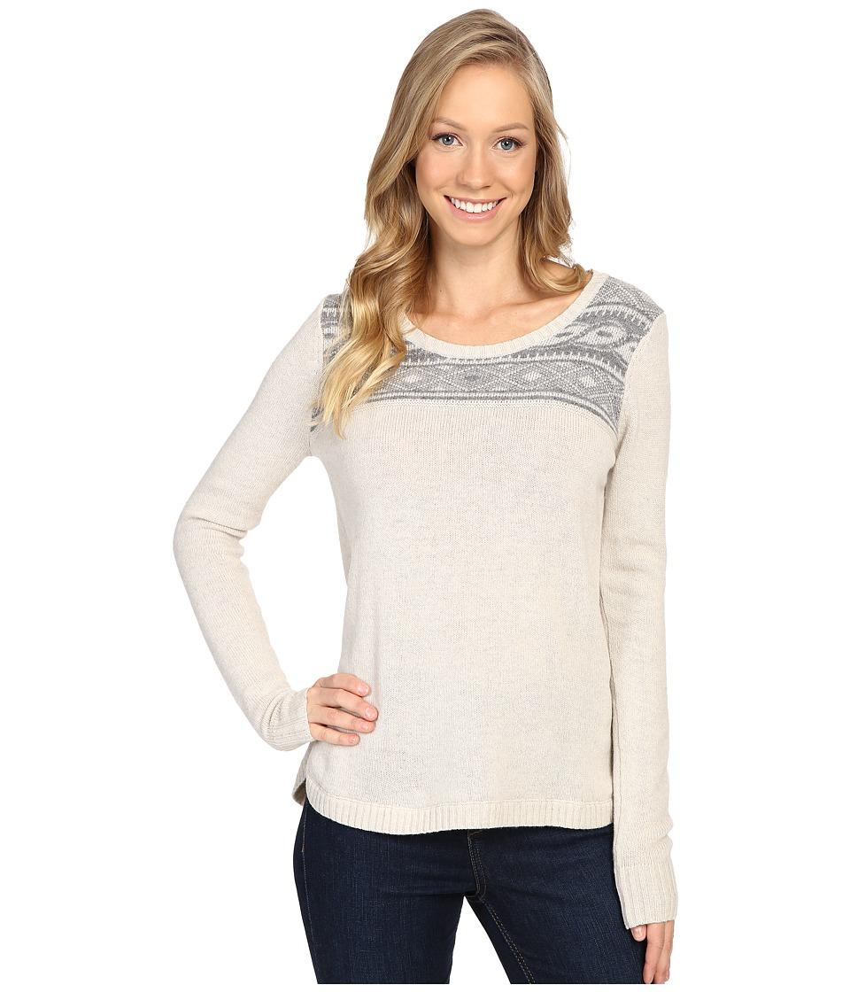Toad&Co - Aleutia Crew Sweater (Polar Bear) Women's Sweater