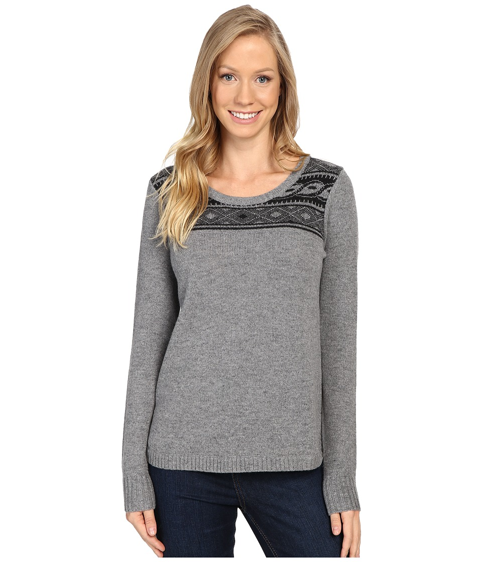 Toad&Co - Aleutia Crew Sweater (Smoke Heather) Women's Sweater