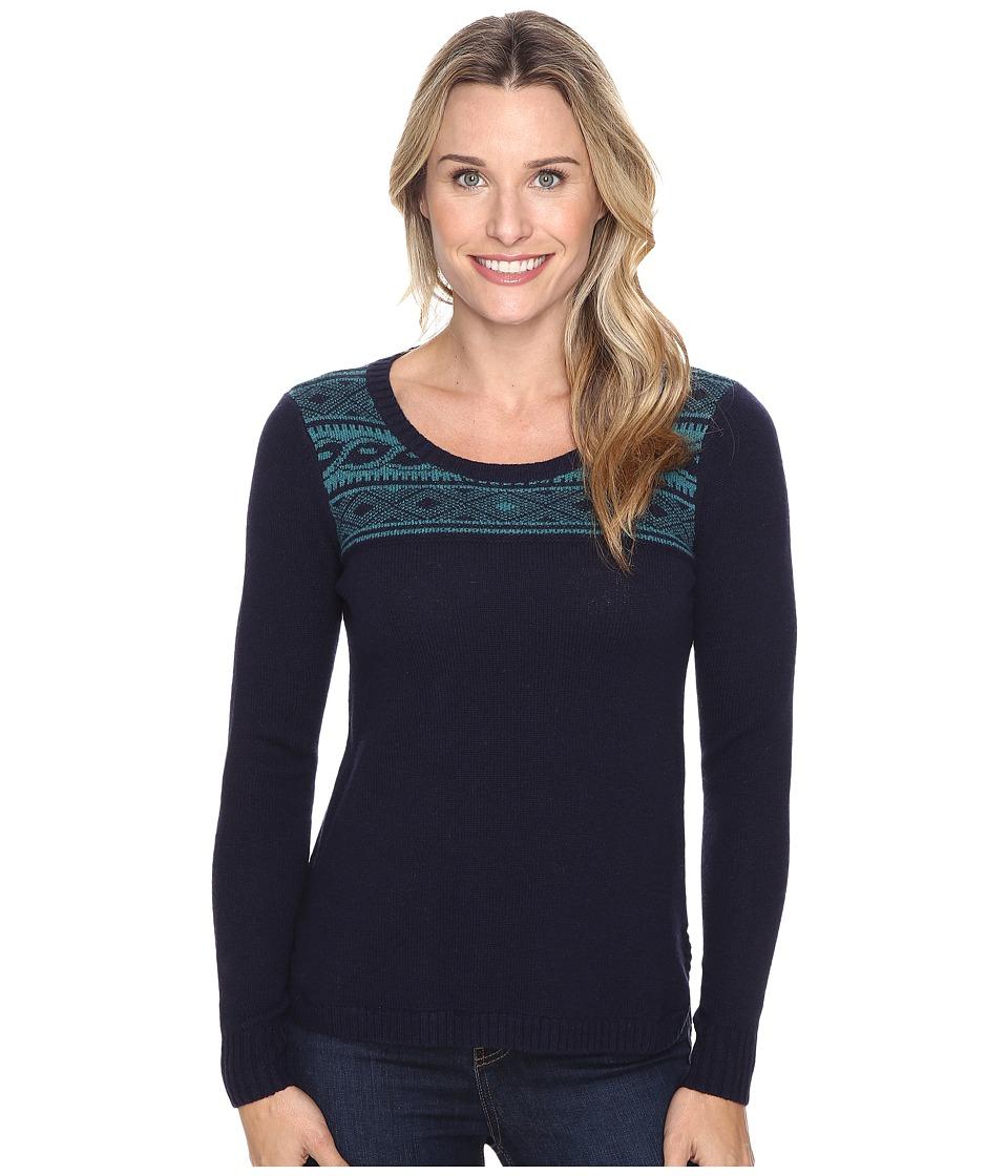 Toad&Co - Aleutia Crew Sweater (Deep Navy) Women's Sweater