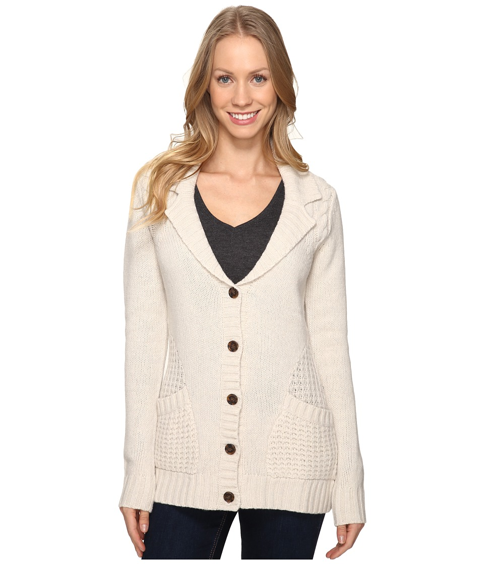 Toad&Co - Targhee Cardigan (Polar Bear) Women's Sweater