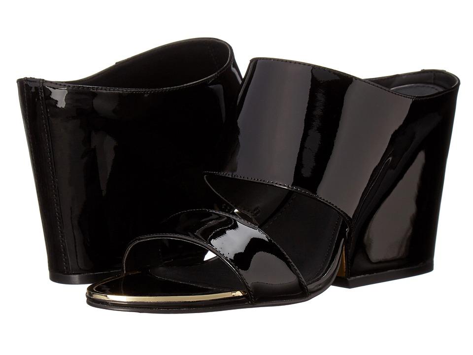 Calvin Klein Cali (Black Patent) Women