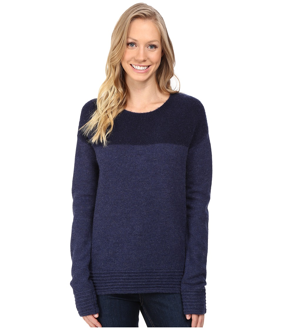 Toad&Co - Kaya Crew Sweater (Deep Navy) Women's Clothing